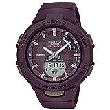 [カシオ] 腕時計 ベビージー FOR SPORTS 歩数計測 Bluetooth 搭載 BSA-B100AC-5AJF レディース ブラウン