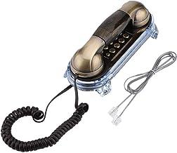 $31 » Sponsored Ad - Socobeta Telephone Antique Retro Wall Mounted Telephone Corded Phone Landline Fashion Telephone for Home Ho...