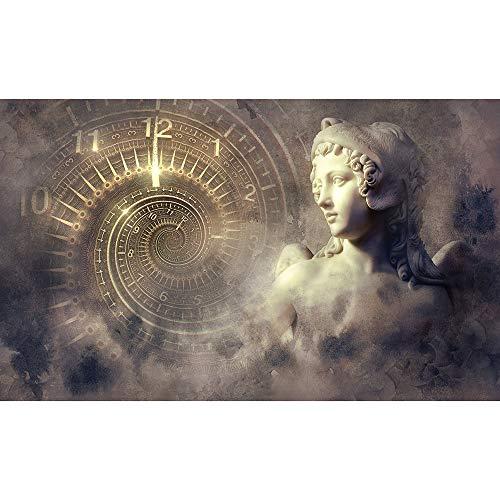 SANSHUI Tiempo Mystic Filosofía Estatua del Ángel De Rompecabezas For Adultos Zen Creative Kids Challenge Juego Intelectual Entretenimiento Juego Juguetes 500-6000 Piezas 0628 (Size : 5000 Pieces)