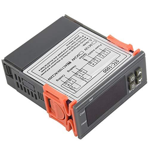 TaoToa Termostato del regulador de temperatura digital 220V/STC-/1000 con NTC