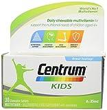 Centrum Multivitamin Tablets for Kids, Pack of 30
