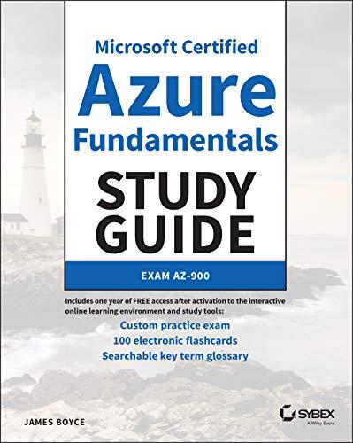 Microsoft Certified Azure Fundamentals Study Guide: Exam AZ-900 Front Cover