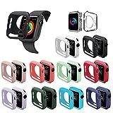 UMG Lot de 3 protections d'écran en verre trempé pour Apple Watch Série 3/2/1, dureté 9H,...