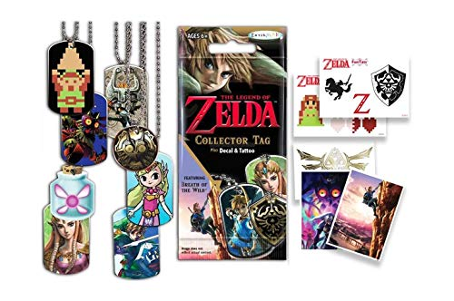 Heo Sobre Sorpresa The Legend of Zelda (Collector Tag, Plus Decal and Tattoo)