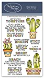 A Little Prickly Cactus Clear Stamps | Clear Rubber Stamps | Photopolymer Stamps | Card Making Supplies