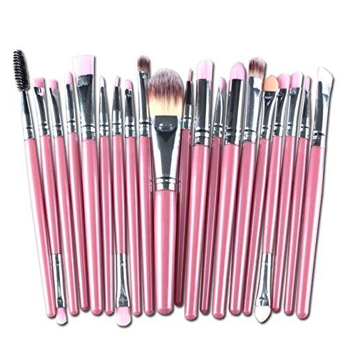 MEISINI Maquillage Pinceaux Fond de Teint Poudre Crème Visage Maquillage Fard À Paupières Sourcils Fibre Nylon Brosses À Cheveux Kit