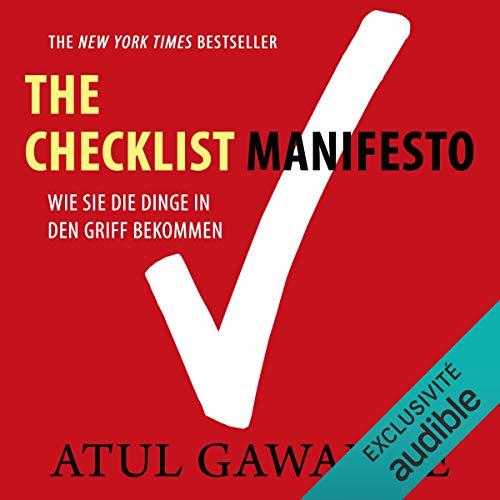 Checklist Manifesto audiobook cover art