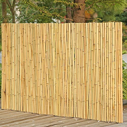 Zaun Bambuszaun Außen Paravent Garten Privatsphäre Zaun Leitplanke Zaun (Size : 2Mx1M)