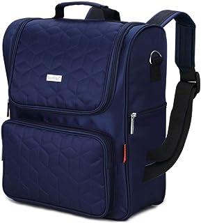LIMING Bag Shoulder Bag Waterproof ulation Bag Large Capacity Cart Use Bag (Color : Blue, Size : 38x15x31cm),Size Name:38x...