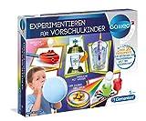 Clementoni 69252 Galileo Science – Experimentieren für Vorschulkinder, 25 spannende Versuche fürs Kinderzimmer, optische Täuschungen uvm., Spielzeug für Kinder ab 5 Jahren