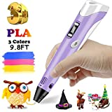 Unique gifts for children and adults: 3D pens help children improve their spatial thinking and imagination, develop creativity and artistic skills, and turn their ideas into reality. Let your imagination run wild! It is also a great way for parents a...