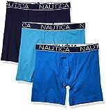 Nautica Men's 3-Pack Classic Underwear Cotton Stretch...