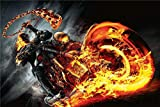 Ghost Rider Leinwandkunst Poster und Wandkunst Kunstdruck