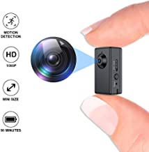 Mini Spy Camera,FUVISION Micro Camera with Motion Detect,1080P Full HD Hidden Camera with..