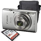 Best Compact Macro Cameras - Canon PowerShot ELPH 180 Digital Camera (Silver) + Review