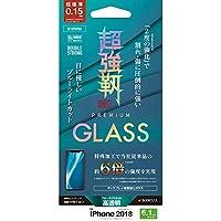 ラスタバナナ iPhone XR ガラスパネル Wストロング強度6倍製法 BLC 0.15MM 5E1359IP861