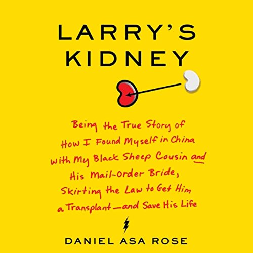 Larry's Kidney audiobook cover art