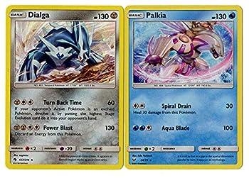 Pokemon Legendary Card Set - Dialga & Palkia - Lost Thunder & Shining Legends - 127/214 & 24/73 - Rare 2 Card Lot