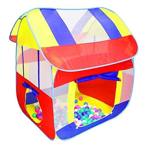 RZH Casa de Juegos para Niños, Casa de Juegos Plegable, Casa Pequeña para Niños en Interiores, Casa de Niña Princesa Casa de Juguete Castillo