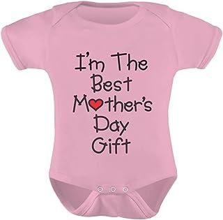Tstars - I'm The Best Mother's Day Gift - Cute Bodysuit Unisex Baby Bodysuit