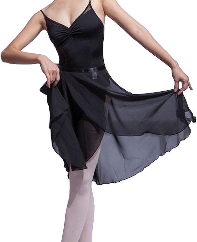 Hoerev Women Girls Adult Sheer Safety and trust Ballet Da Skirt Wrap Excellence