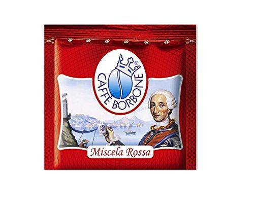 "150 Kaffee-Pads ""Caffè Borbone"" 44mm, Mischung ""Rossa"", für universelle Kaffeemaschinen"