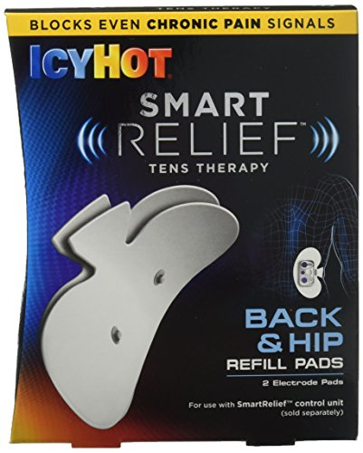 ICY HOT Smart Relief TENS Therapy Back Refill Kit, 2 Count (Pack of 1)