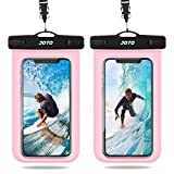 JOTO Waterproof Case, Universal IPX8 Waterproof Phone Pouch Underwater Dry Bag for iPhone