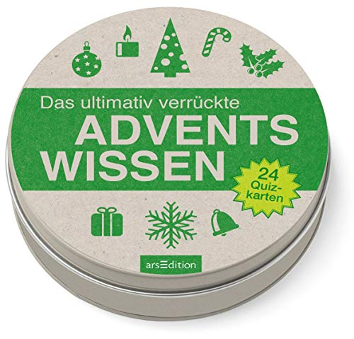 Das ultimativ verrückte Adventswissen (Adventskalender)