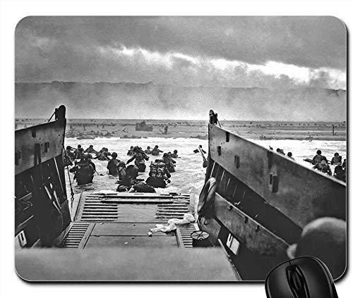 Landing Craft Omaha Beach Normandy D-Day War - Alfombrilla para ratón