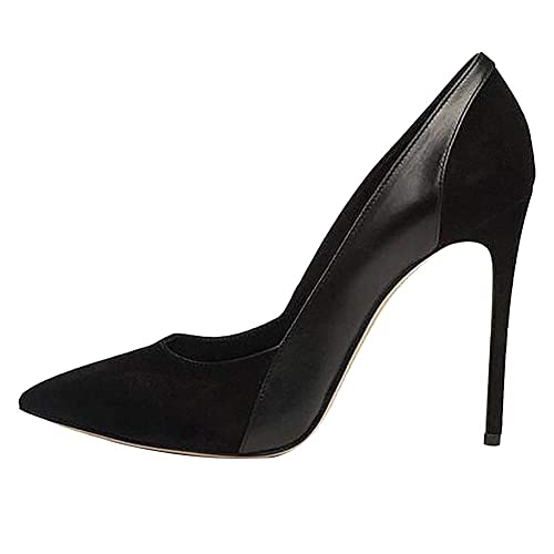 d70f47a4ece Black Stiletto High Heels: Amazon.com