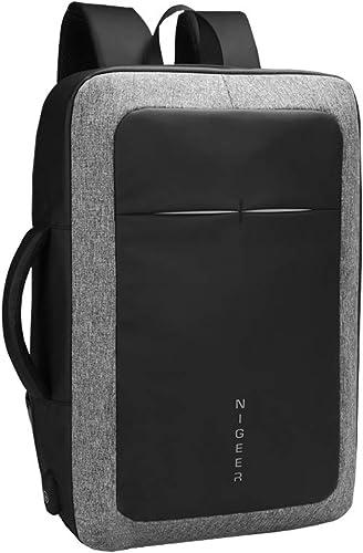 OBOC Sac a Dos Ordinateur portable, Sac à Dos Homme Femme Multipoches Sac a Dos PC portable 15.6 Pouces Imperméable Laptop sac à dos