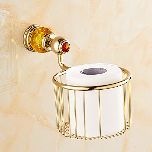 GFEI la serviette de cuivre - or crystal serviette panier panier / porte - papier toilettes porte - papier de toilette,c