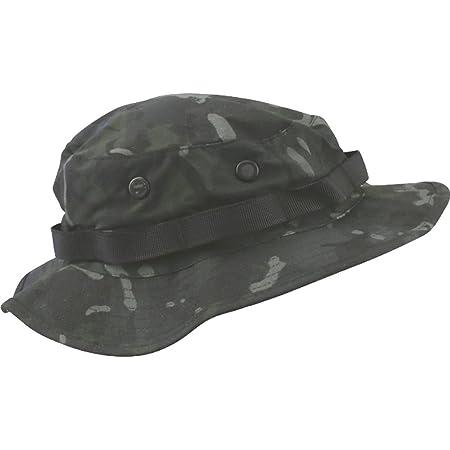 Kombat UK Boonie Hat - US Style Jungle Hat-BTP Black - M