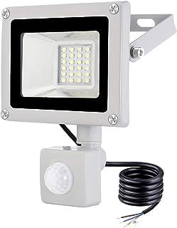 Magazzino Via Dersoy 30W Faretto LED per Esterno con Sensore di Movimento Giardino Faretto LED Impermeabile IP66 Bianco Freddo 6500K Llluminazione per Esterni per Patio