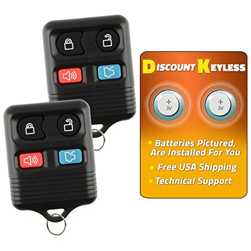 Discount Keyless Replacement Keyless Entry Car Remote Control Key Fob Clicker...
