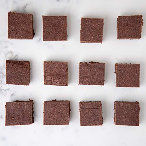 Bougie Bakes Brownie Bites | Premium Organic Brownies | Simple Gluten-Free, Sugar-Free, Dairy-Free, Non-GMO, & Keto-Friendly Ingredients | Low Carbs | 1.5-Inch Squares | 12 Per Box