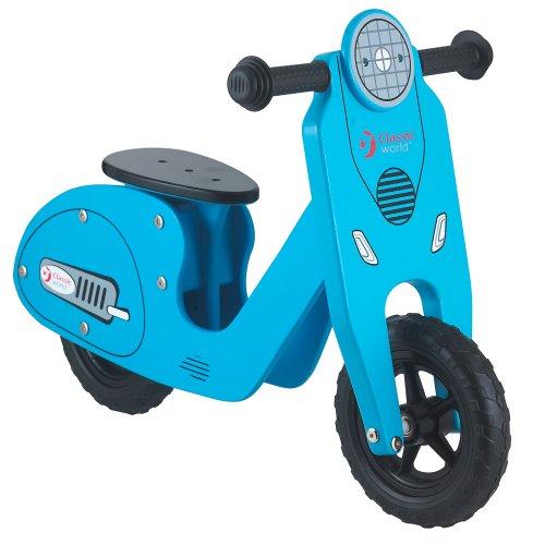 Classic World Toys - CL2360B - Vélo en bois - Bleu