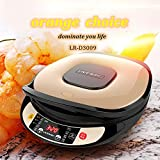 LIVEN Electric Crepe Maker with Automatic Temperature Control, Blintzes, Pancakes, Bacon, 8 Inch Dia 120V BC-11