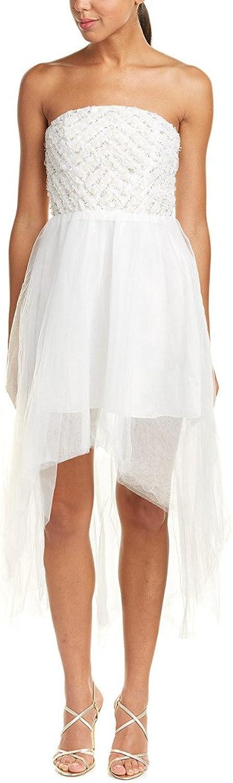 Parker Black Midtown Strapless HiLo Cocktail Evening Gown Dress