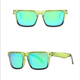 LUKEEXIN Polarized Sunglasses for Driving Fishing Golf Glasses UV400 (Color : 09)