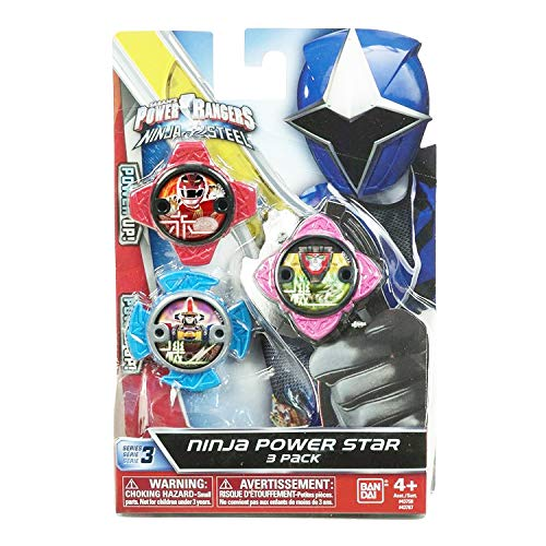 Power Rangers Pack Estrellas, 43750, Multicolor