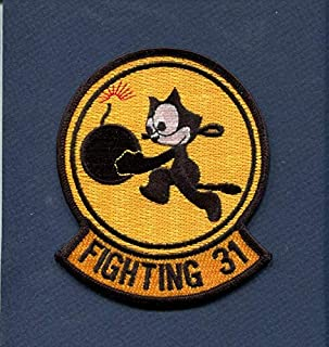 Embroidered Patch-Patches for Women Man- VF-31 VFA-31 TOMCATTERS Felix