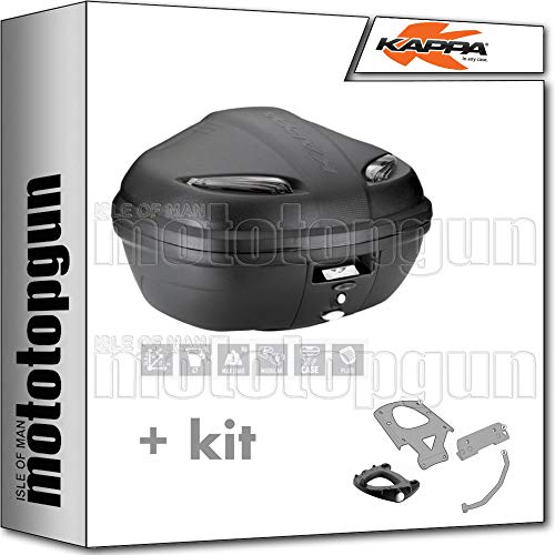 kappa maleta k47nt manta 47 lt + portaequipaje monolock compatible con moto guzzi v85 tt 2020 20