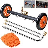 WARMQ 2-in-1 Pressure Washer Undercarriage Cleaner Water Broom