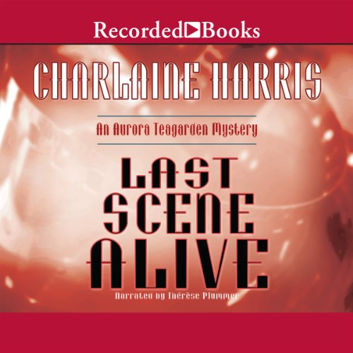Last Scene Alive audiobook cover art