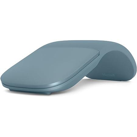 Microsoft Surface ARC Mouse - Ratón (Ambidextro, BlueTrack, Bluetooth, 1000 dpi, 1200 pps, Azul)