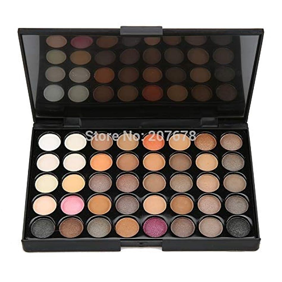 に頼る却下する垂直40 colors Eyeshadow Pallete Matte Make Up Earth Palette Glitter Waterproof Lasting loose nude Powder Eye Shadow Makeup