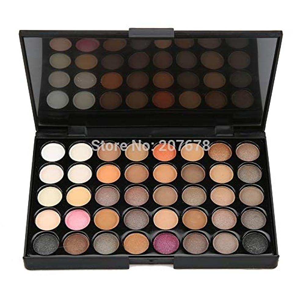 士気差別化する注釈を付ける40 colors Eyeshadow Pallete Matte Make Up Earth Palette Glitter Waterproof Lasting loose nude Powder Eye Shadow Makeup
