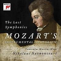 Mozart: Symphonies Nos. 39. 40 & 41 by Nikolaus Harnoncourt